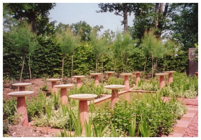 Photos des jardins de chaumont sur loire anne 1998 for Jardin oriental
